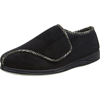 Schuh Avenue - Mocasines para hombre, color negro, talla 41 EU / 7 UK