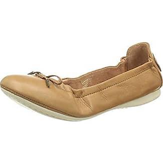 AM - Bailarinas de material sintético para mujer marrón marrón, color marrón, talla 44