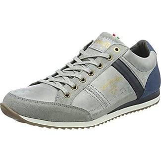 Pantofola D'oro Matera Uomo Low, Zapatillas para Hombre, Schwarz (Black), 46 EU