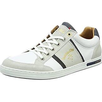 Pantofola D'oro Imola Romagna Uomo Low, Zapatillas para Hombre, Blanco (Bright White), 47 EU