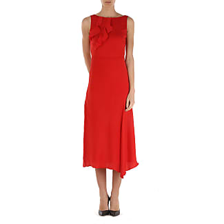 Dress for Women, Evening Cocktail Party On Sale, Red, polyester, 2017, 10 12 14 6 8 P.A.R.O.S.H.