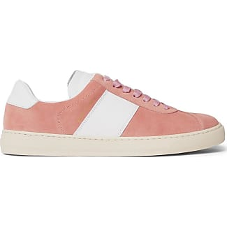 Levon Suede And Leather Sneakers - PeachPaul Smith