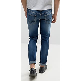 Stone Washed Slim Fit Jeans Pepe Jeans London