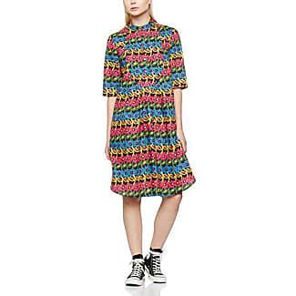 Peter Jensen Frill, Shorts para Mujer, Multicolor (Black), 40 (Talla del Fabricante:L)