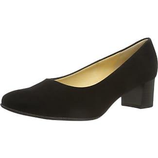 Peter Kaiser - Zapatos de vestir de ante para mujer, color negro, talla 39