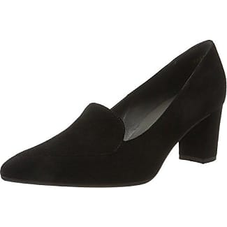 DOREA 52901 - Zapatos de tacón de cuero para mujer, color negro, talla 37.5 EU (4.5 Damen UK) Peter Kaiser