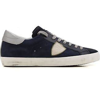 Sneakers for Men On Sale in Outlet, Blue, Leather, 2017, 6.5 Philippe Model