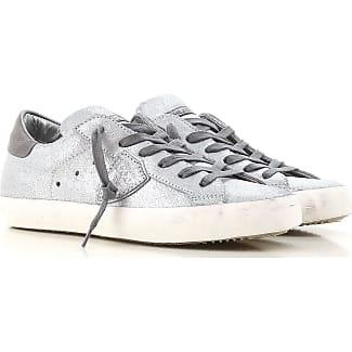 Zapatos de Tacón de Salón Baratos en Rebajas Outlet, Bluette, Piel, 2017, 38 Philippe Model