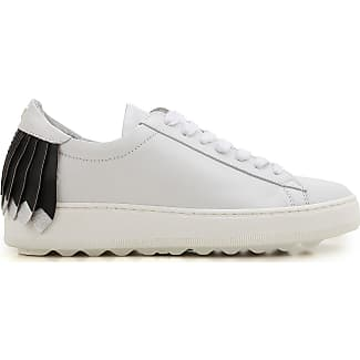 Sneakers for Women On Sale in Outlet, White, Leather, 2017, 3.5 Philippe Model