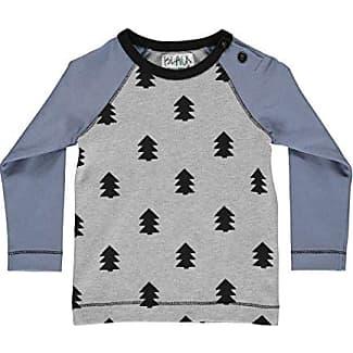 Phister & Philina Ayla Bird Langarmshirt, Camiseta de Manga Larga para Bebés, Mehrfarbig (Zephyr Zep), 6 Mes