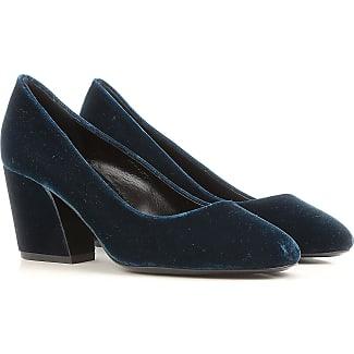 Pumps & High Heels for Women On Sale, Dark Petrol Blue, Velvet, 2017, 3.5 4 4.5 7.5 Pierre Hardy