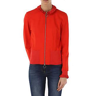 Womens Coat On Sale, Red, viscosa, 2017, 12 Pinko