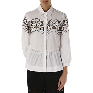 Shirt for Women On Sale in Outlet, White, Cotton, 2017, 8 Pinko