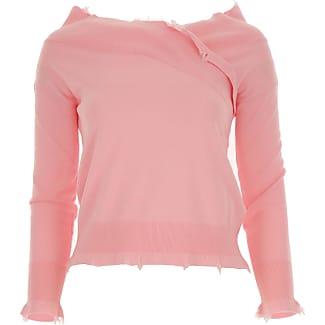 Sweater for Women Jumper On Sale, Light Blue, Cotton, 2017, 8 Pinko
