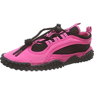 Badeschuhe, Aquaschuhe, Surfschuhe neonfarben - Zapatillas Impermeables Unisex Adulto, Color Naranja, Talla 43 EU Playshoes