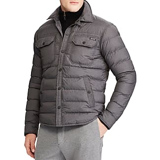 Polo Ralph Lauren Mens Quilted Down Shirt Jacket