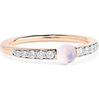 Mama Non Mama 18-karat Rose Gold, Diamond And Amethyst Ring - 15 POMELLATO