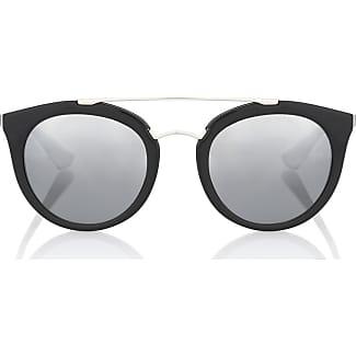 Prada Sonnenbrille Schwarz Gold