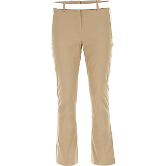 Pants for Women On Sale, Ecru, Cotton, 2017, 24 Prada