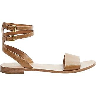 Sandals for Women On Sale in Outlet, Hazelnut, suede, 2017, 4 Prada