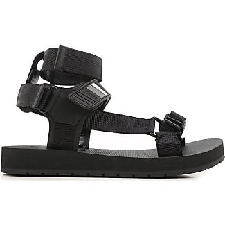Sandals for Men, Black, Rubber, 2017, 10 5 6 7 8 9 Prada