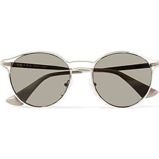 prada round sunglasses shop up to 30 stylight. Black Bedroom Furniture Sets. Home Design Ideas