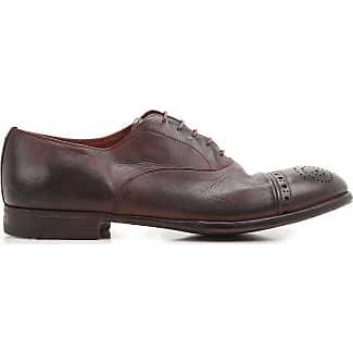 Lace Up Shoes for Men Oxfords, Derbies and Brogues On Sale, Black, Leather, 2017, 7.5 Premiata