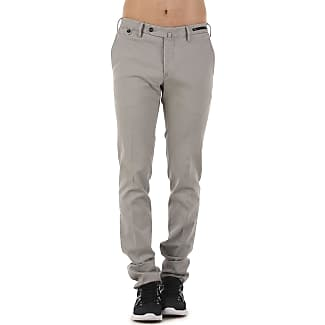 Pants for Men On Sale, Medium Grey, Cotton, 2017, 30 32 34 36 38 40 PT01