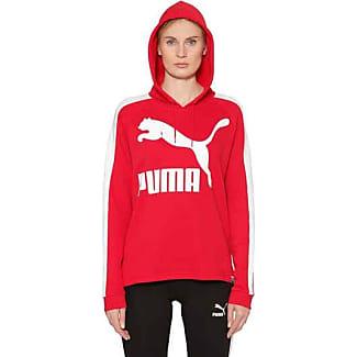 felpa rossa puma donna