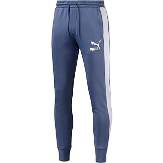 pantaloni tuta da uomo puma blu