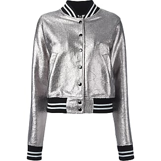 Black leather look bomber jacket womens