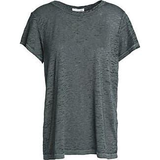 Rag & Bone/jean Woman Marled Slub-jersey T-shirt Gray Size XXS Rag & Bone
