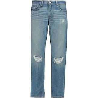 Rag & Bone/jean Woman Frayed High-rise Bootcut Jeans Mid Denim Size 27 Rag & Bone