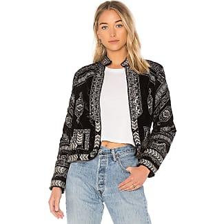 Black denim bolero jacket