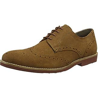 Red Tape Men Hartwell, Zapatos para Hombre, Marrón (Brown), 41 EU (7 UK)
