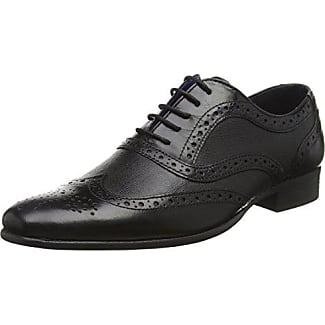 Red Tape Men Hartwell, Zapatos para Hombre, Negro, 42 EU (8 UK)