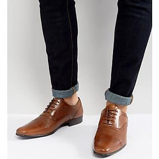 Zapatos Oxford de cuero tostado Milled de Red Tape Redtape