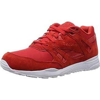 Reebok GL 6000 Hidden Messaging Tech Pack, Zapatillas Para Hombre, Rojo (AQ9818_41 EU_Excellent Red/White/Black), 45 EU