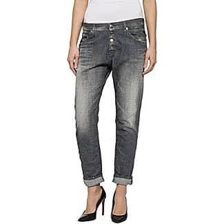 Ivy - Jeans - Boyfriend - Femme - Gris (Bounce Grey Destroyed 007) - W30/L32 (Taille fabricant: W30/L32)Cross Jeanswear