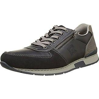 Rieker 19604-14, Sneaker Uomo, Blu (Pazifik/Navy/Fire/Staub), 44 EU