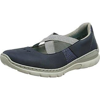 Rieker Damen L3280-14 Sneakers, Blau (14), 39 EU