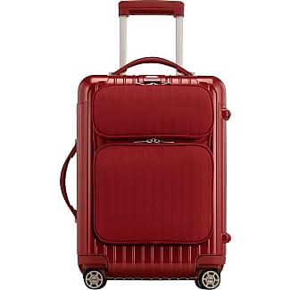 Rimowa Salsa Deluxe Cabin Multiwheel Luggage, Red