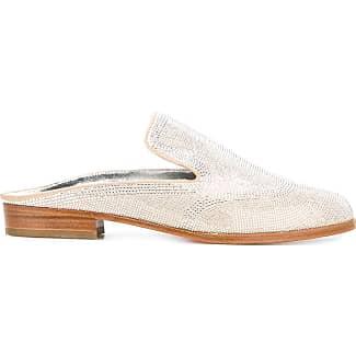 Loafers for Women On Sale, Flamingo, Suede leather, 2017, 4 4.5 6 6.5 Bottega Veneta