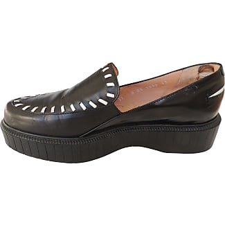 Pre-owned - Leather flats Robert Clergerie