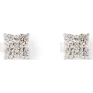 Roberto Coin Prong-Set Diamond Flower Earrings