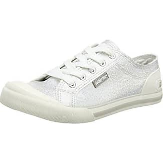 Jazzin - Zapatillas Mujer, Bianco (White (Cadet White)), 36 EU (3 UK) Rocket Dog
