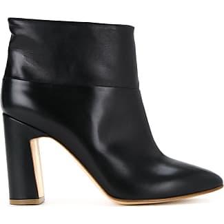 Cut Expenses Rupert Sanderson Leather Boots Black