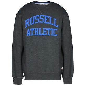 CREW NECK SWEAT WITH TACKLE TWILL ARCH LOGO - CAMISETAS Y TOPS - Sudaderas Russell Athletic