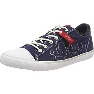 s.Oliver 13641, Zapatillas Para Hombre, Azul (Navy), 42 EU