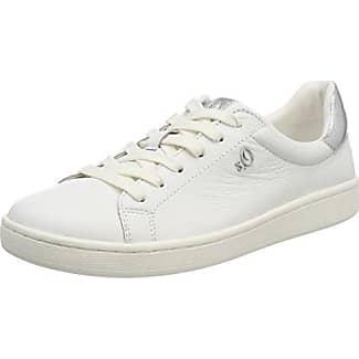 s.Oliver 23624, Zapatillas Para Mujer, Blanco (White), 37 EU